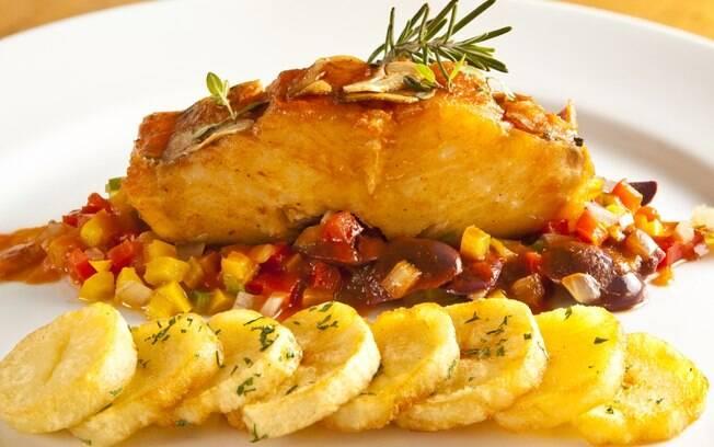 Resultado de imagem para bacalhau com batatas