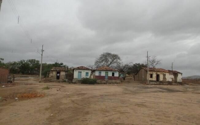 Casas do vilarejo de Pasmadinho. Foto: Ricardo Galhardo/iG São Paulo