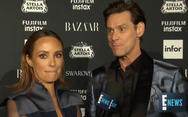 Em entrevista confusa%2C Jim Carrey questiona a existência da humanidade