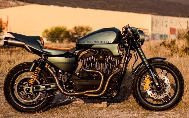 Harley-Davidson XR 1200 Apex Predator, customizada pela mexicana Querétaro. Foto: Divulgação
