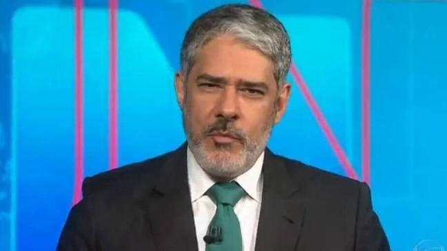 William Bonner acaba de renovar seu contrato com a Globo até 2025