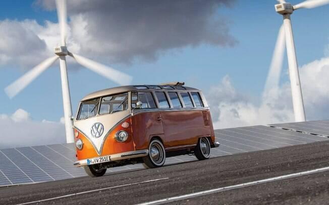 VW Kombi elétrica
