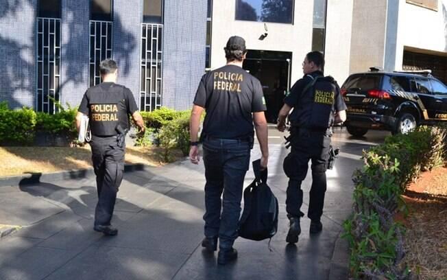 Operação no combate à pornografia infantil no mês passado já havia cumprido mandados no DF, em GO, no ES e no MT. (Foto: Divulgação / Polícia Federal)