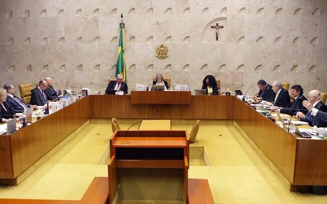 Sessão plenária do STF: com decisão da corte, prisõs após condenação podem ocorrer em segunda instância