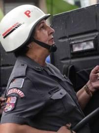 Cabo Justra também é uma das policiais que está perto da aposentadoria