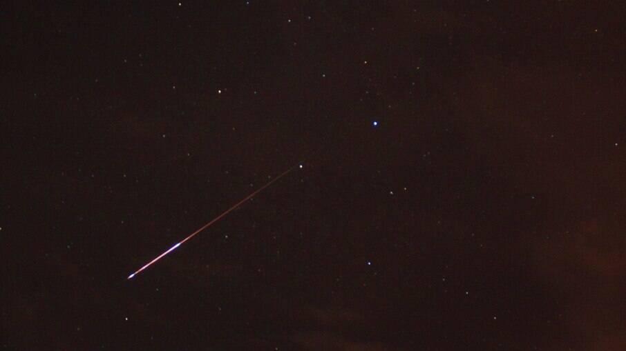 Meteoros poderão ser vistos na maior parte do Brasil nesta quarta (11)