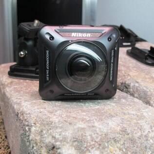 Keymission 360 será a primeira câmera de ação lançada pela Nikon