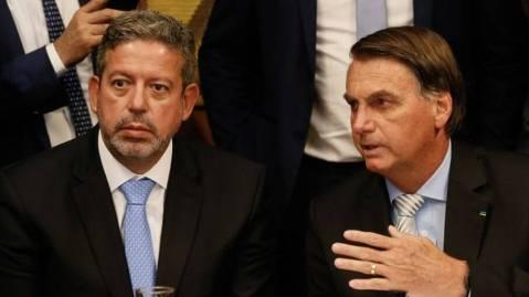 Arthur Lira, presidente da Câmara, e Bolsonaro