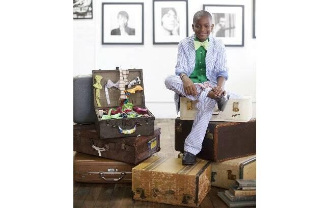 Use seus dons. O dono da Mo's Bows, Moziah Bridges, é um garoto determinado e criativo. Foto: Annabella Charles/ Mo's Bows