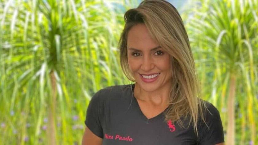 Nara Prado is a personal trainer and former athlete of the Brazilian Handball Team