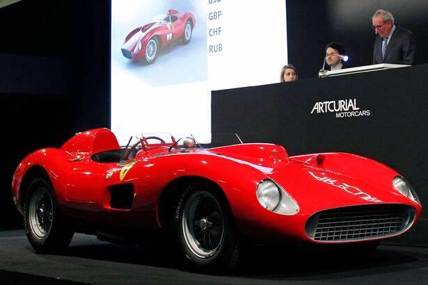 Ferrari 335 S Spider Scaglietti 1957. Foto: Reprodução/Internet