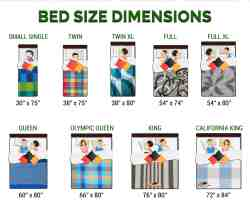 Bed Size Chart In Feet The Future