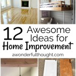 12 Awesome Home Improvement Ideas Mm 163 A Wonderful Though