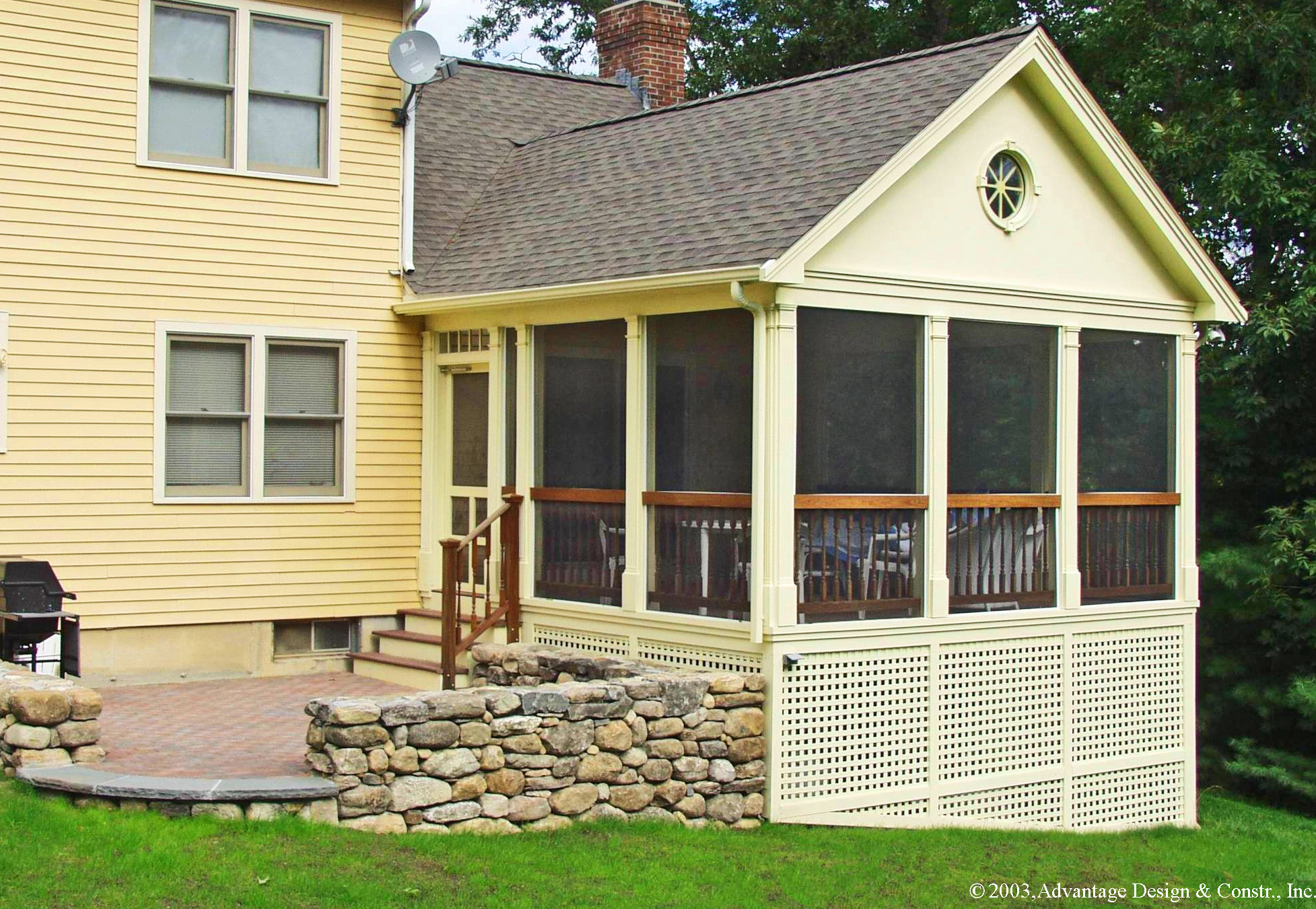 want to convert your deck to a porch