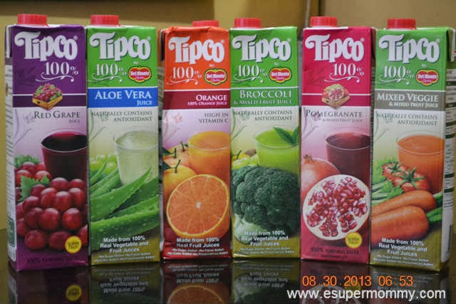 Tipco 100 Healthy Juices By Del Monte Experience Of A Super Mommy