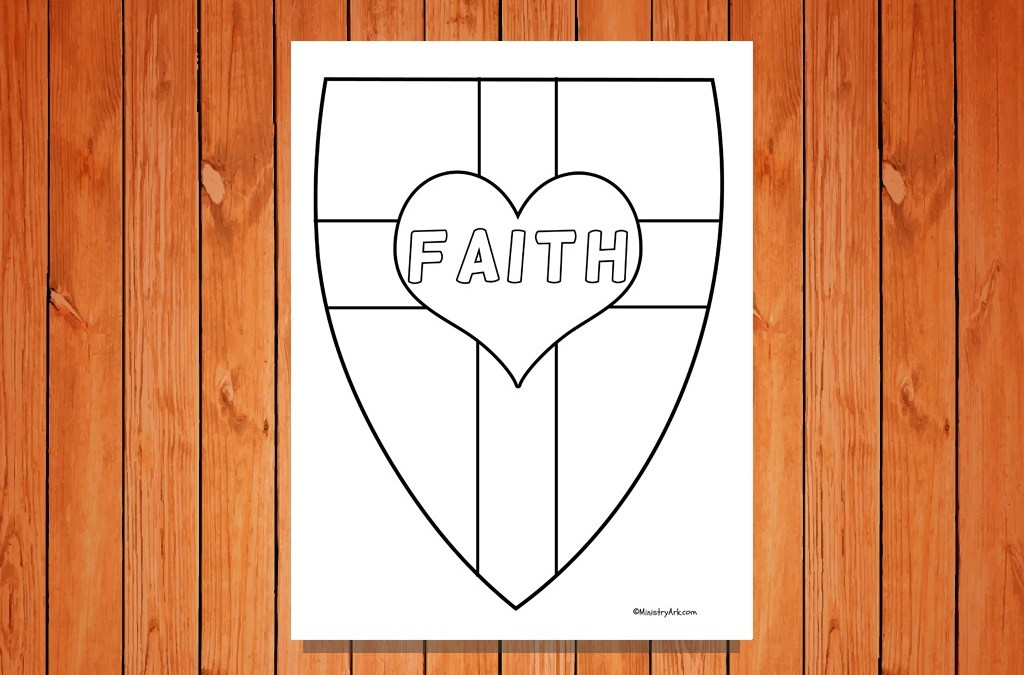 there are several shield of faith printables below that can be