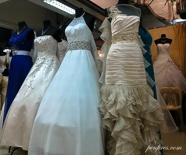 Made In Divisoria: My Wedding Gown And Entourage Dresses