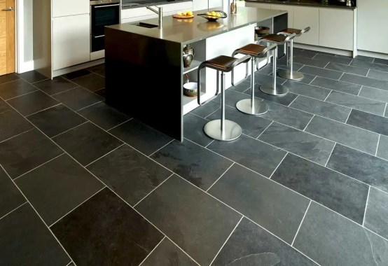 how to install a slate tile