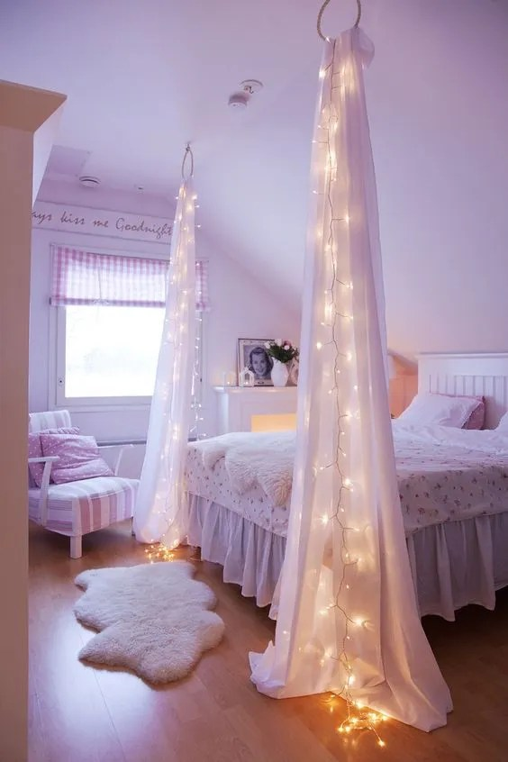 how to make pretty girly rooms that are