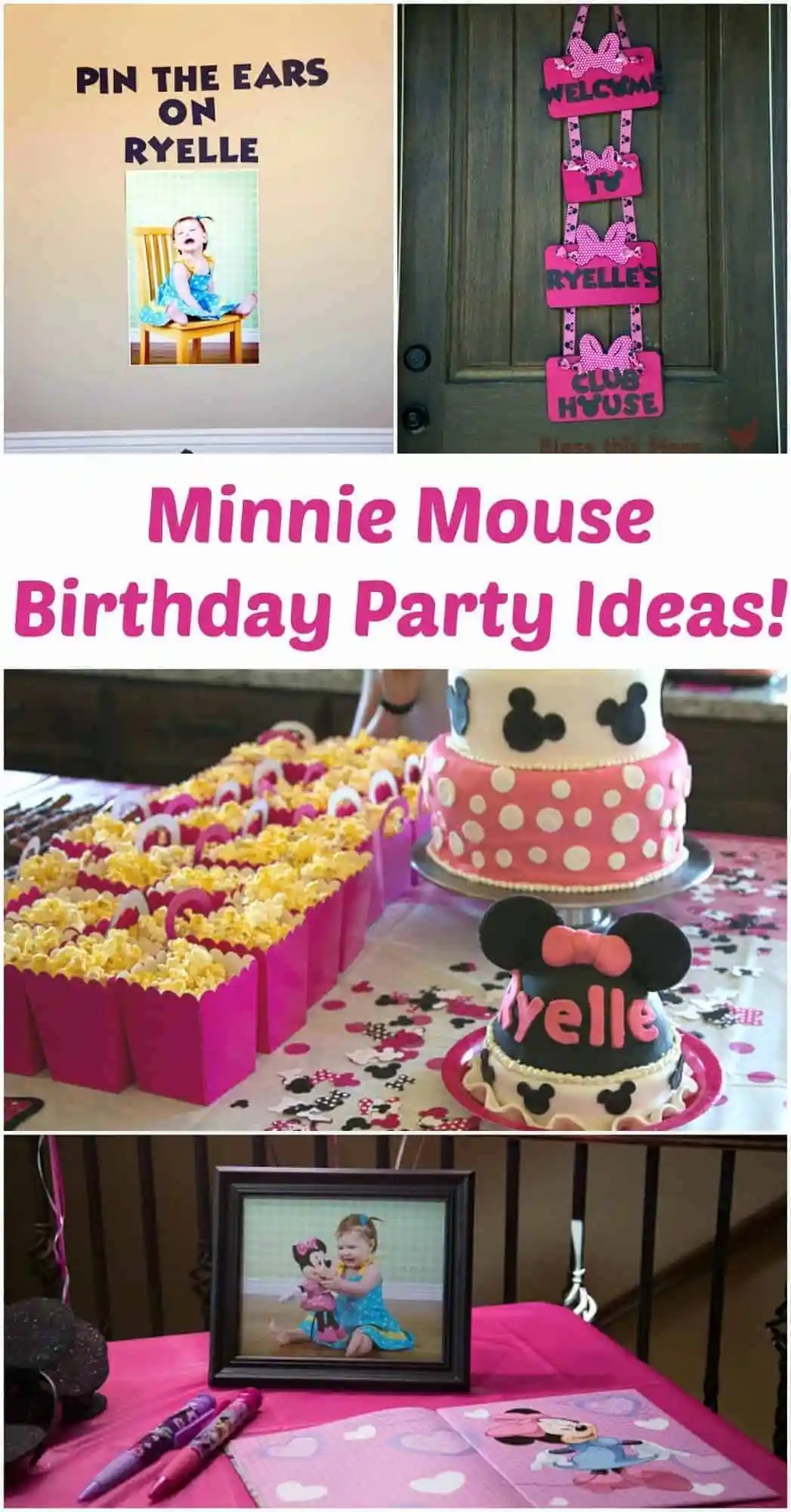 Minnie Mouse Birthday Party Cute Diy Disney Party