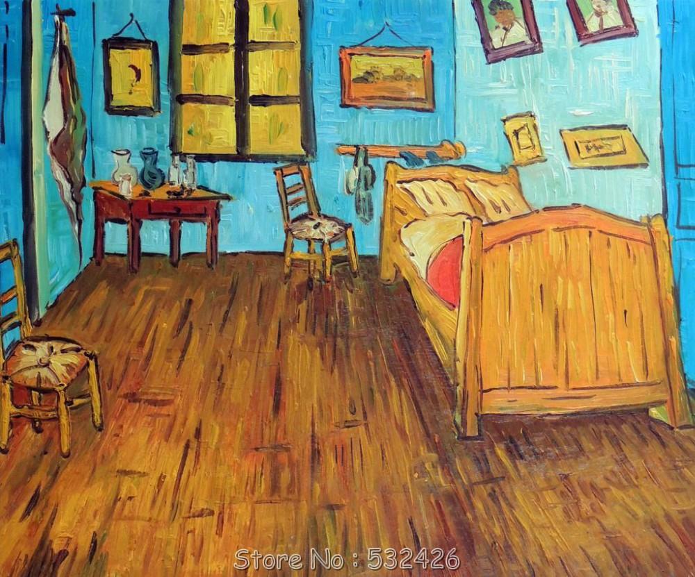 Van Gogh The Bedroom Painting   KH Design