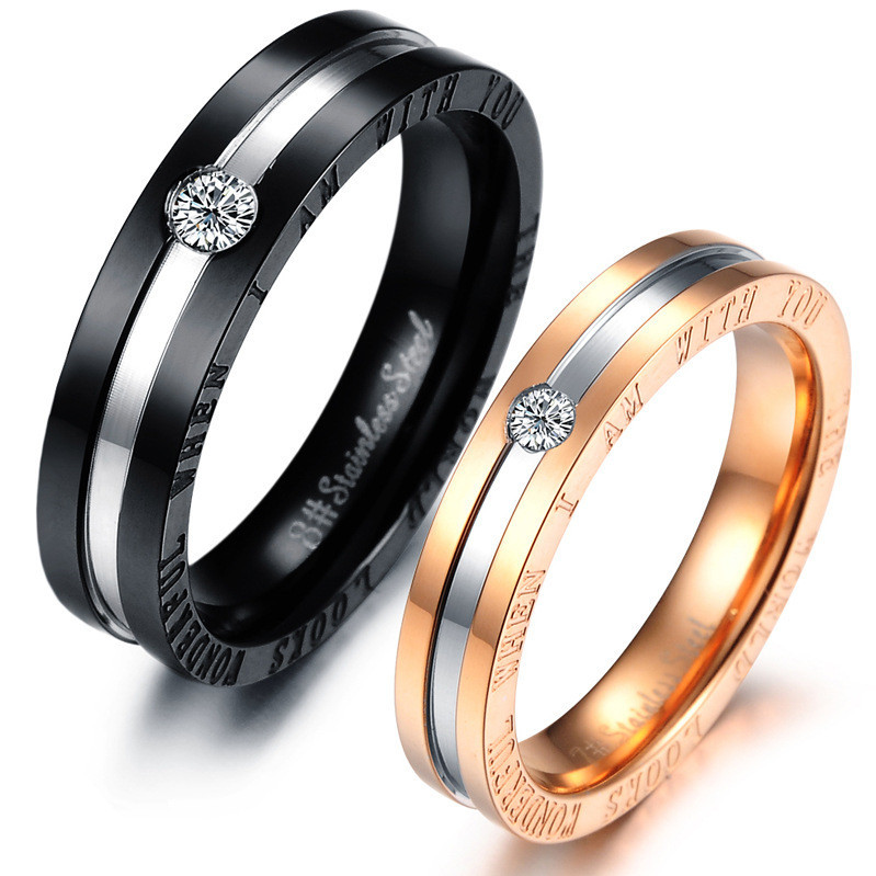 Hot Selling His and Hers Matching Ring Set Engagement ...