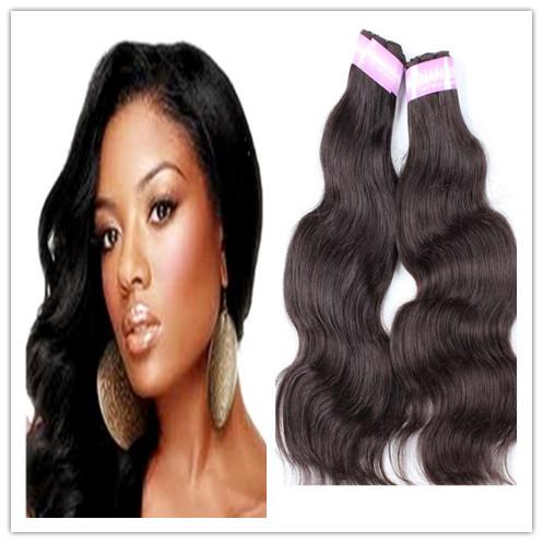 free shipping indian hair body wave 2pcs lot 100 human hair extension cheap weave queen hair