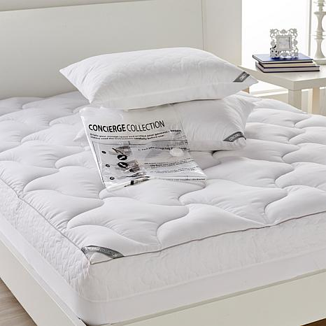Concierge Rx Mattress Pad Pillows W Compression Bag