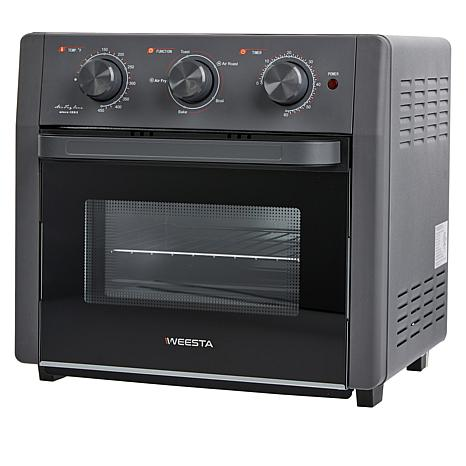 weesta 19 quart multifunctional 5 in 1 air fryer toaster oven