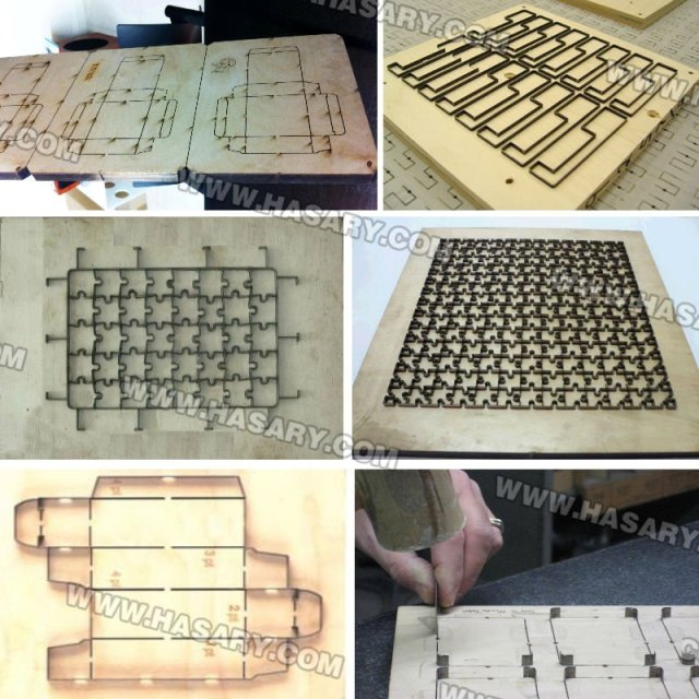 Die board laser cutting machine produces die board forms for