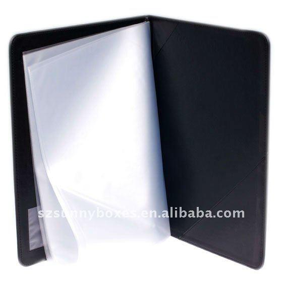 leather folder buy leather folder pu leather folder