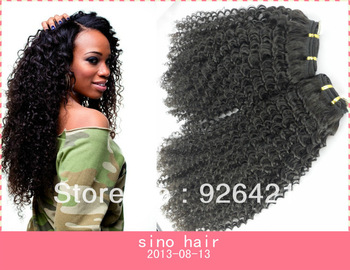 african virgin human hair weave curly weft for african american 100 mongolian human hair no