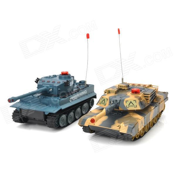 Радиоуправляемые модели танков.