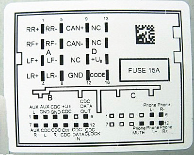 vw rcd 300 wiring diagram somurich com rh somurich com Direct Current RCD Circuit Breaker Explanation