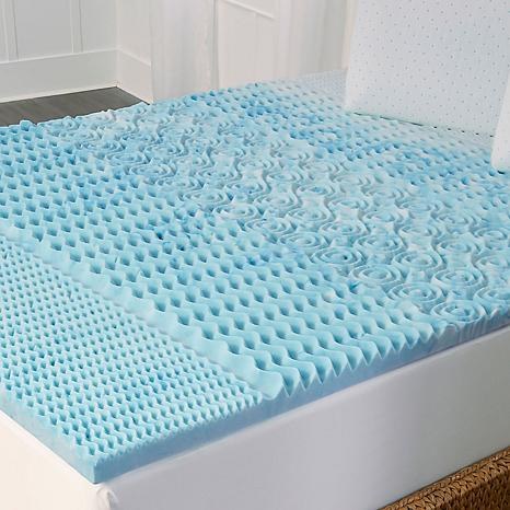 Concierge Rx Cooling Gel 5 Zone Memory Foam Topper K