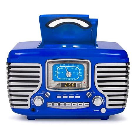 Cd Player And Dual Alarm Clock Red