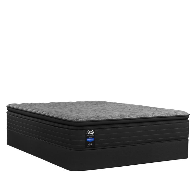 new sealy posturepedic hamilton plush euro pillowtop king mattress set