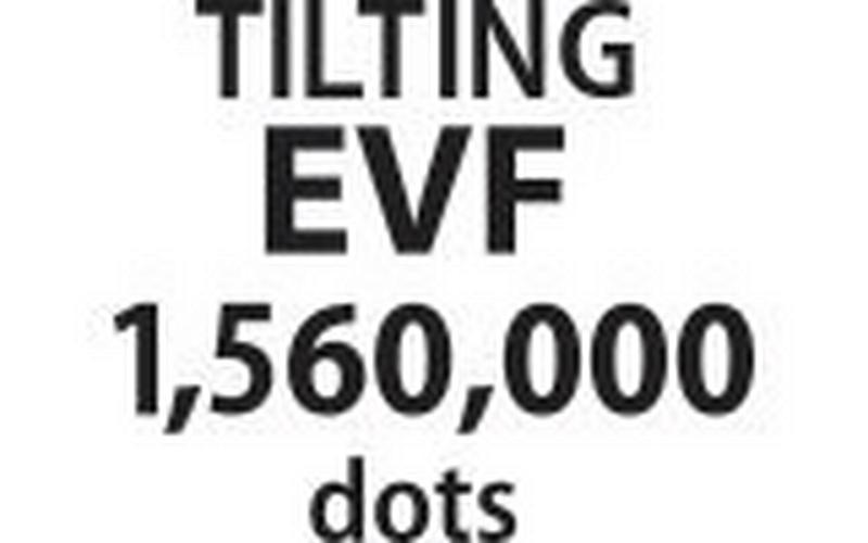 0.24-Inch Tiltable Evf