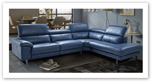 corner sofas in leather or fabric