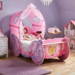 Disney Princess Carriage Toddler Bed Frame With Canopy Kids Beds Kids Dreams
