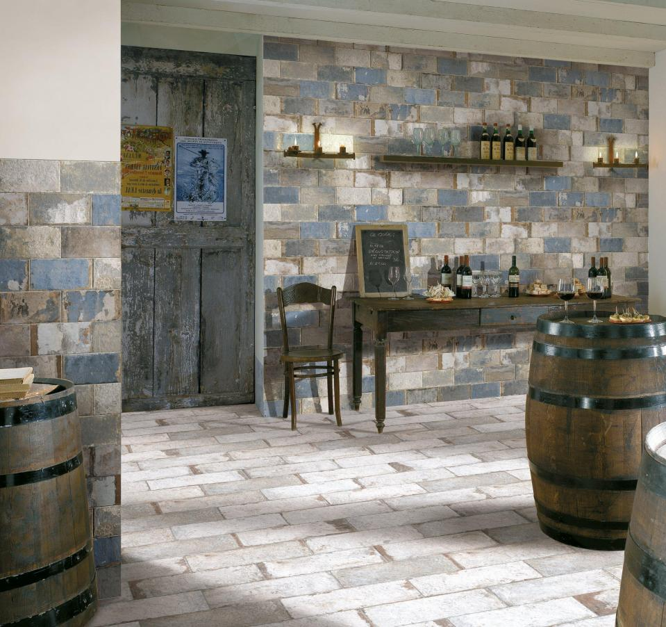 different looks with brick look tile