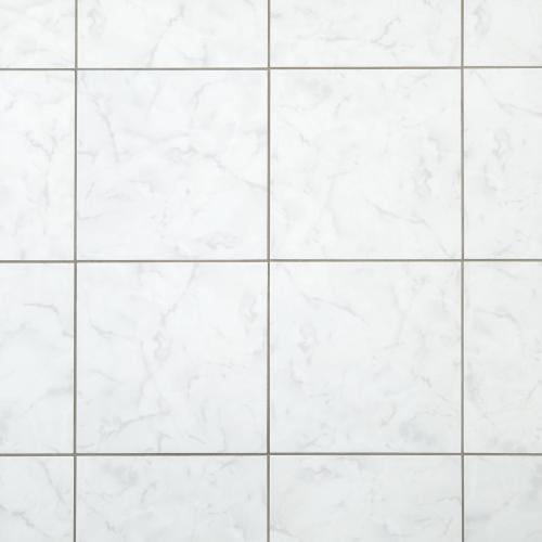12 glossy white ceramic tiles for