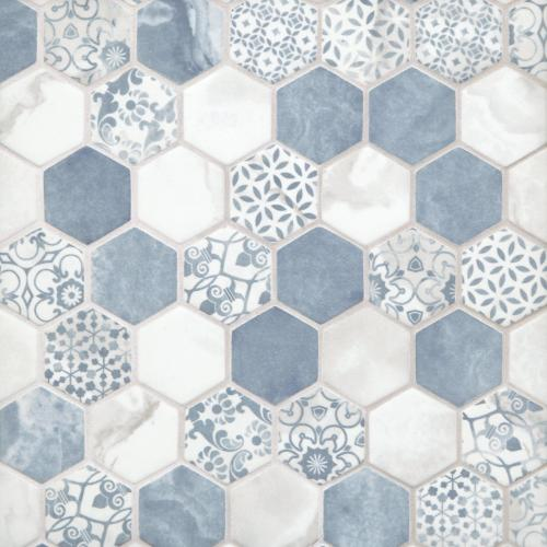 decorative hexagon tile