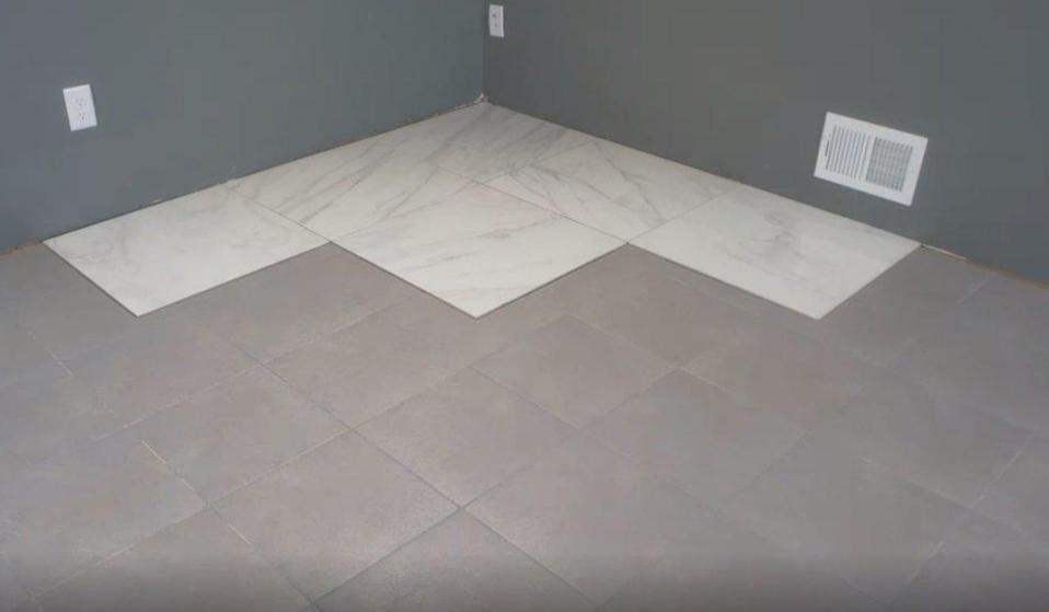 finish install maximo thin tile