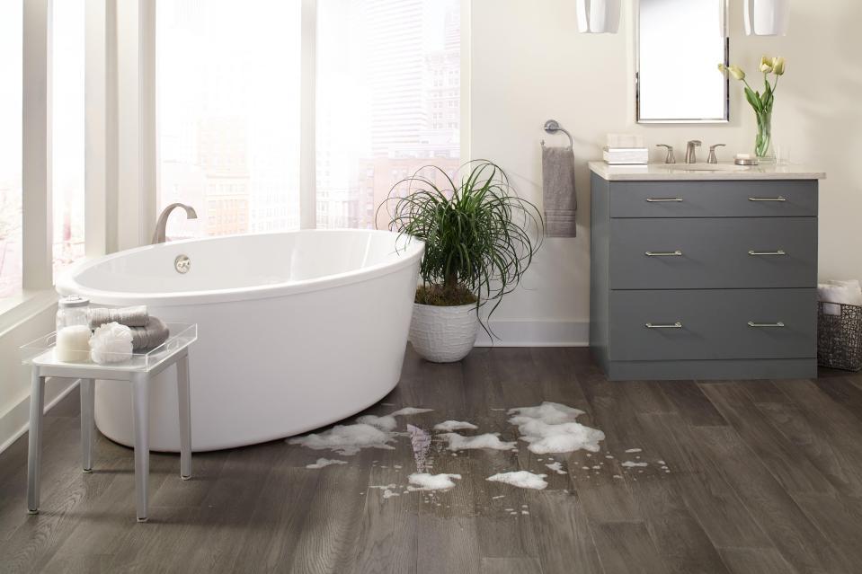water resistant and waterproof floors