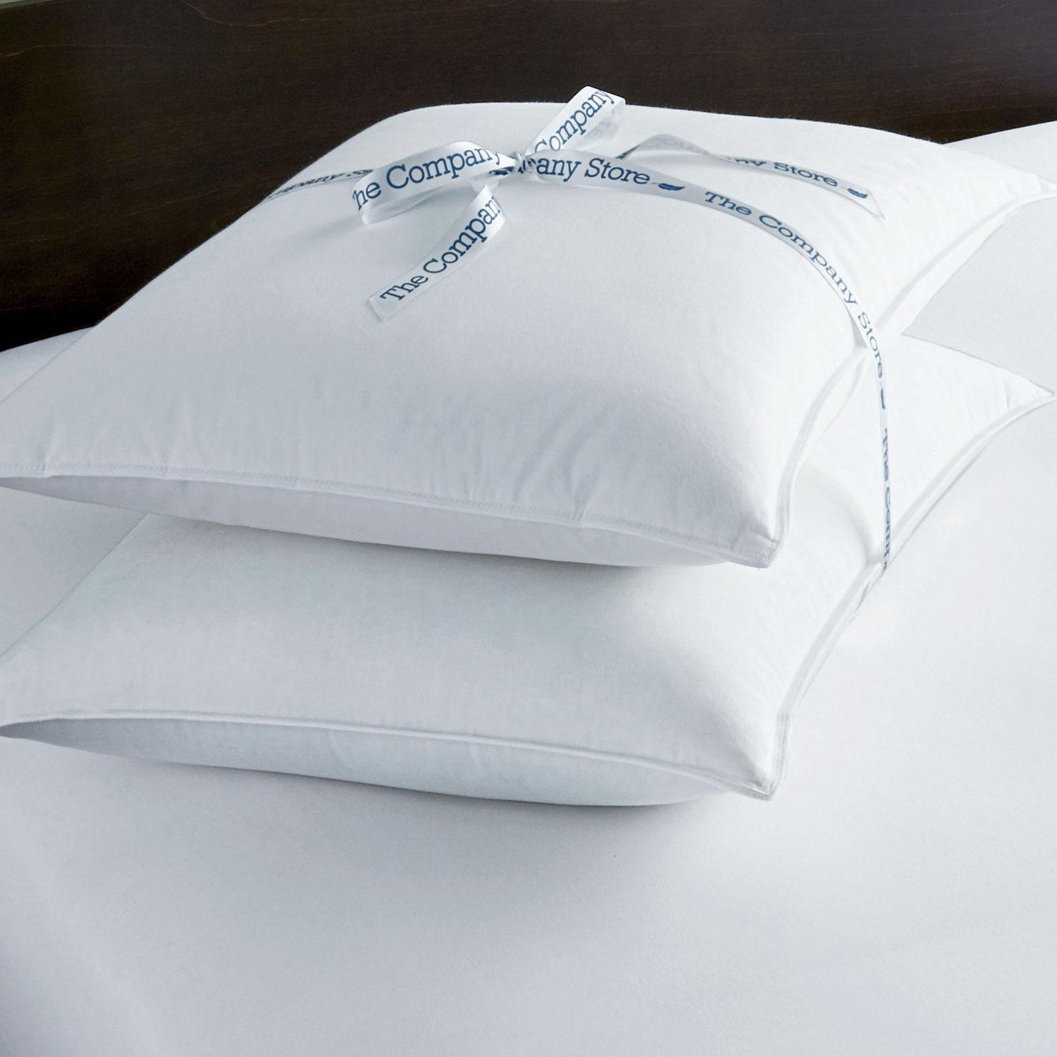 Tcs 174 Down Free Pillow 2 Pack The Company Store