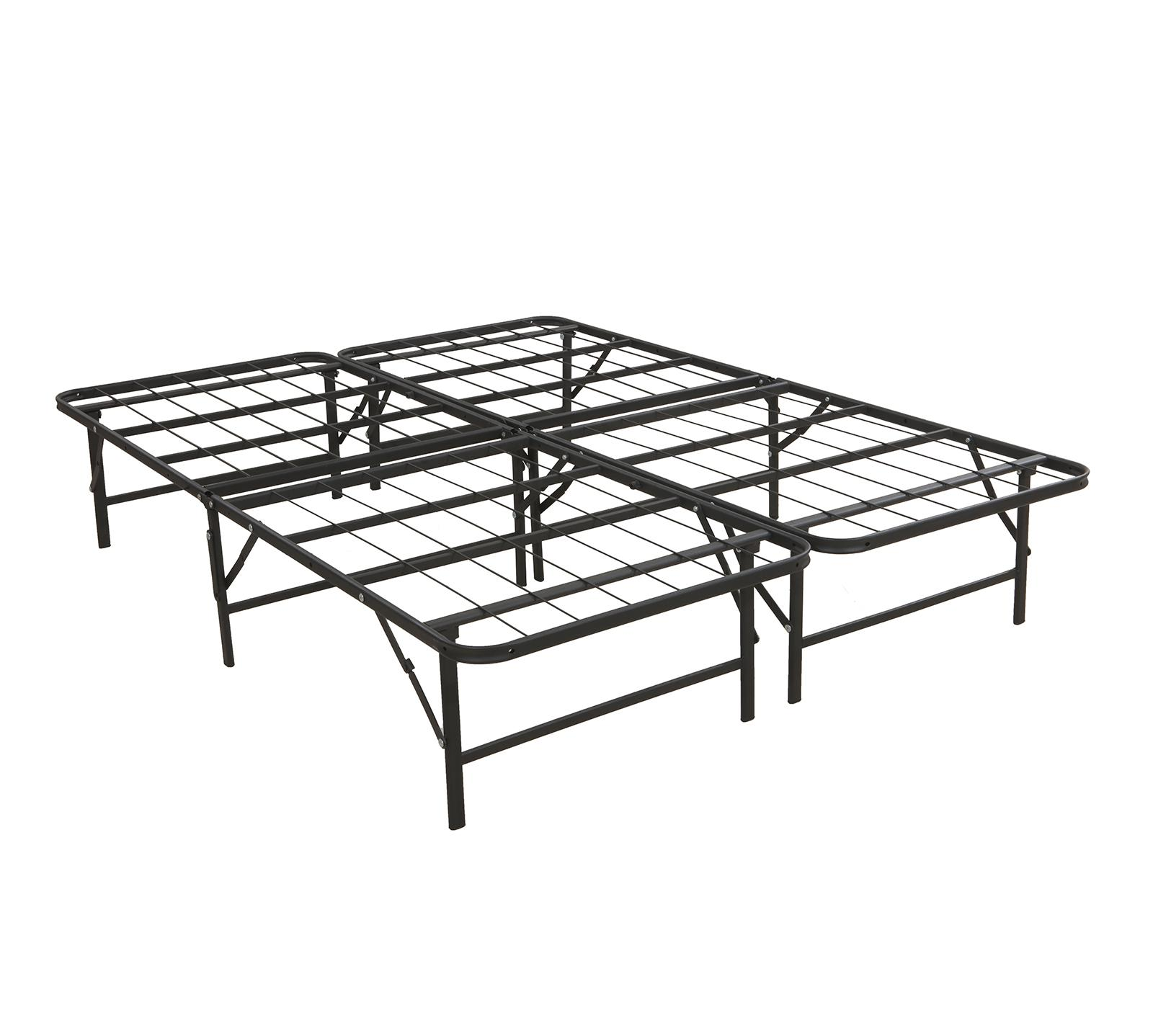 deluxe raised metal platform frame easy assembly