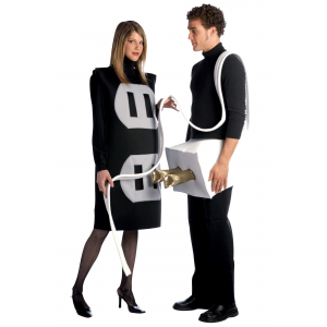 Plug and Socket Costume - Funny Couples Costume Ideas