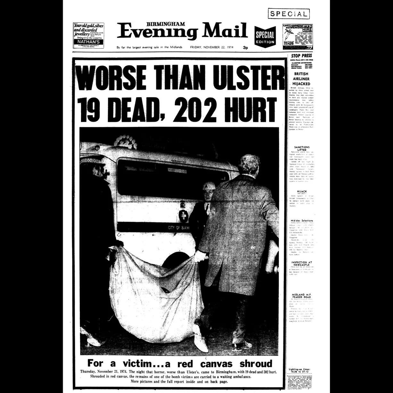 Hasil gambar untuk birmingham 1974 ira