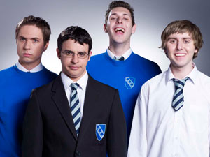 The cast of The Inbetweeners